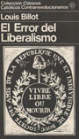 El error del liberalismo - Louis Billot