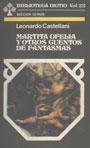 Martita Ofelia y otros cuentos de fantasmas - Leonardo Castellani